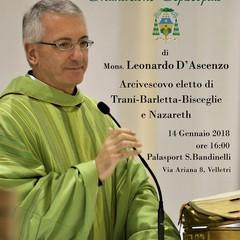 ordinazione di monsignor Leonardo D Ascenzo