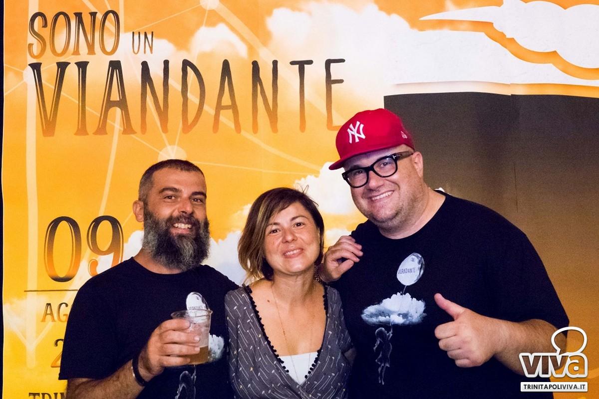 Organizzatori Michele Cognetti, Patrizia Sarcina e Gerardo Russo