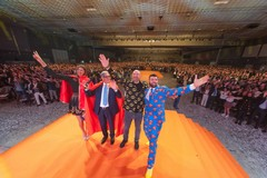 Una super mega festa tra supereroi e personaggi dello spettacolo per il Gruppo Megamark
