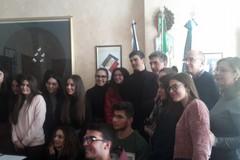 """Gli studenti del Liceo """"Staffa"""" incontrano il sindaco di Barletta"""