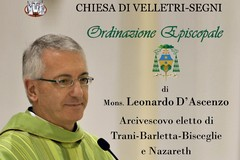 Mons. D'Ascenzo riceve l'ordinazione episcopale: su TrinitapoliViva.it la diretta della celebrazione