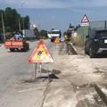 Lavori stradali, Albore: «Entro un mese sistemeremo tutta via Foggia»