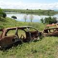 Cimitero di auto rubate scoperto dai Forestali