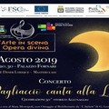 """""""E pagliaccio canta alla luna"""", lirica a Palazzo Fornari"""