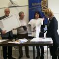 """Rotary Club Valle dell'Ofanto, donati i  """"memo banco """" alle scuole del territorio"""