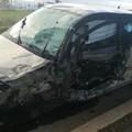 Incidente su via Trinitapoli, tre auto coinvolte e cinque feriti
