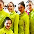 Da Trinitapoli cinque atlete al Campionato Asi di ginnastica ritmica