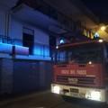 Appartamento in fiamme a Trinitapoli