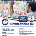 Lega Salvini Premier Puglia, a Trinitapoli gazebo in viale Vittorio Veneto