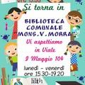 "Martedì 1° ottobre riapre la biblioteca  ""Mons. V. Morra """
