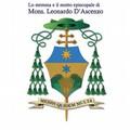 Ecco lo Stemma e il motto Episcopale di Mons. D'Ascenzo
