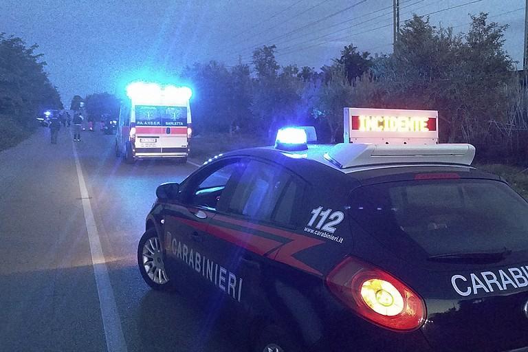 Incidente mortale a Boccadoro (Foto Mario Sculco)