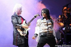 """Gli Off The Wall, tribute band Michael Jackson, alla """"Sagra del Carciofo"""""""