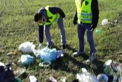 Emergenza rifiuti, guardie ambientali al lavoro