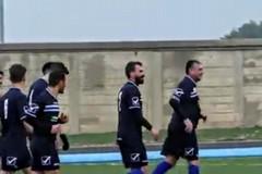 Esordio per il sindaco- calciatore con la maglia del Trinitapoli