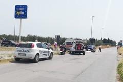 Incidente fra auto e moto: un ferito ricoverato in ospedale