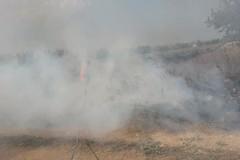 Fumi ed esalazioni di incendi, Lodispoto chiama di Feo