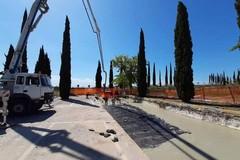 Chioschi nel parcheggio del cimitero comunale, al via i lavori