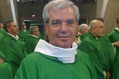 Mons. Pavone saluta fedeli e confratelli dell'Arcidiocesi