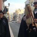 Trinitapoli, Vito e Loreta: la coppia di sposi zampognari