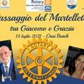 Passaggio del Martelletto al Rotary Club Valle dell'Ofanto