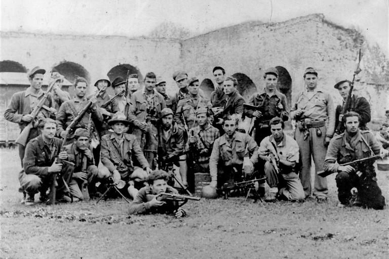 foto gruppo soldati