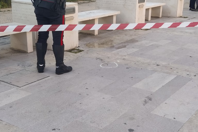 Omicidio. <span>Foto Giuseppe Capacchione</span>