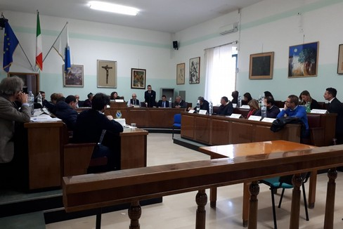 Il consiglio comunale del 15 maggio 2018
