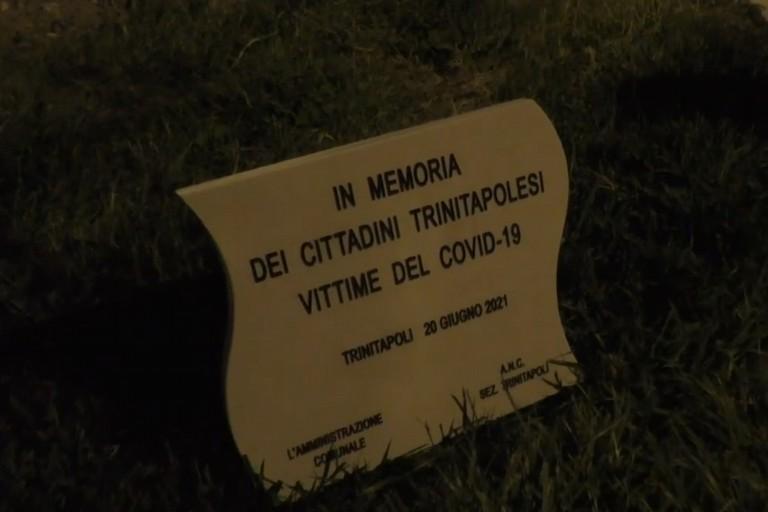 Targa vittime del Covid