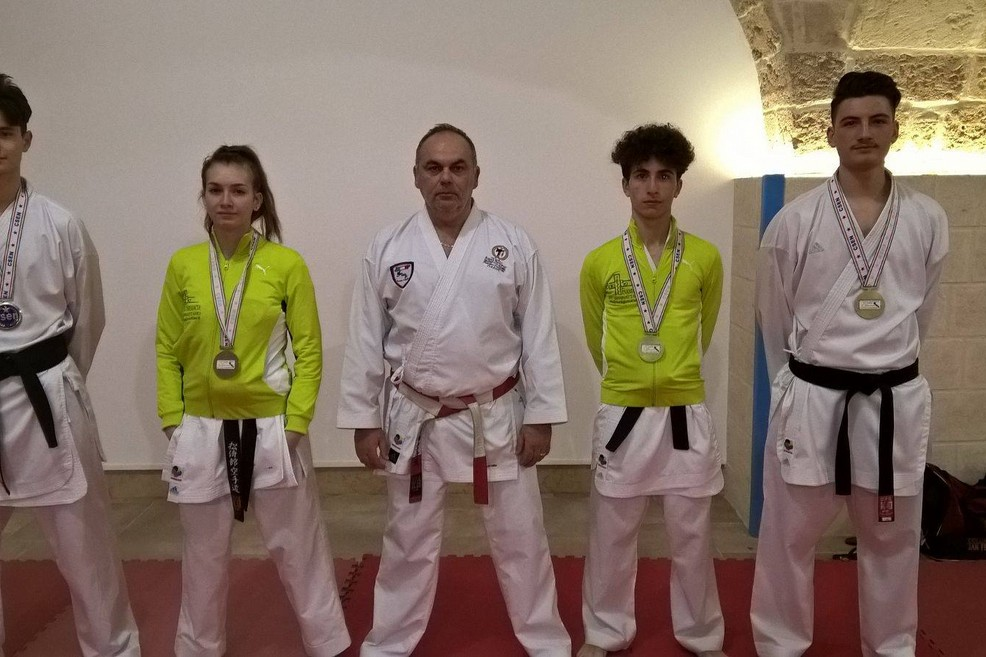 Coppa Puglia Karate Kumitè CSEN