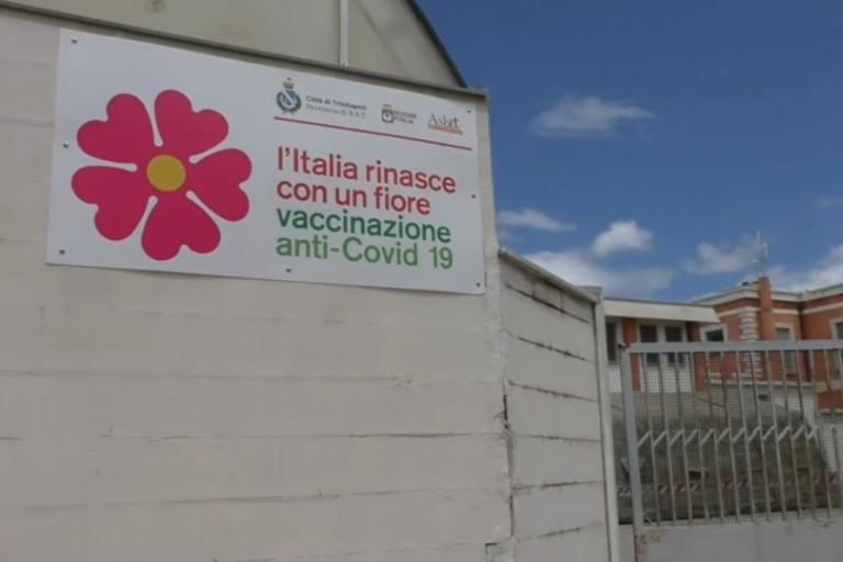 Centro vaccinale Trinitapoli